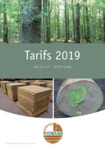couverture tarif 2019 scierie petitrenaud